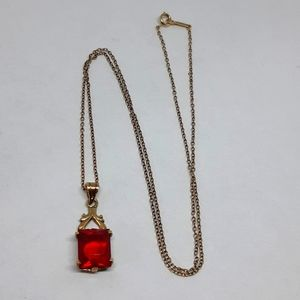 Victorian Solid 10K Gold Necklace